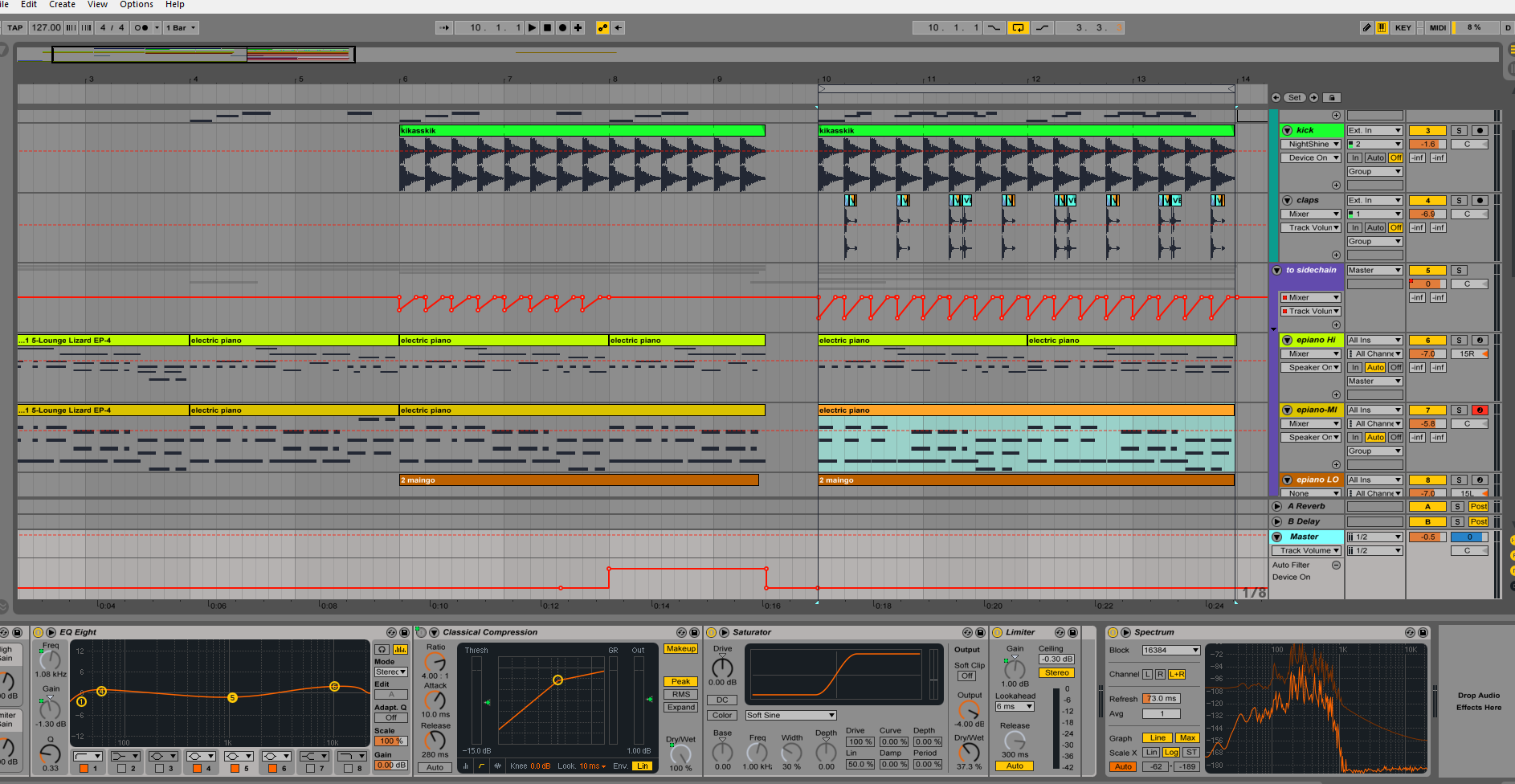 This is a pic of the layout and Master Chain.