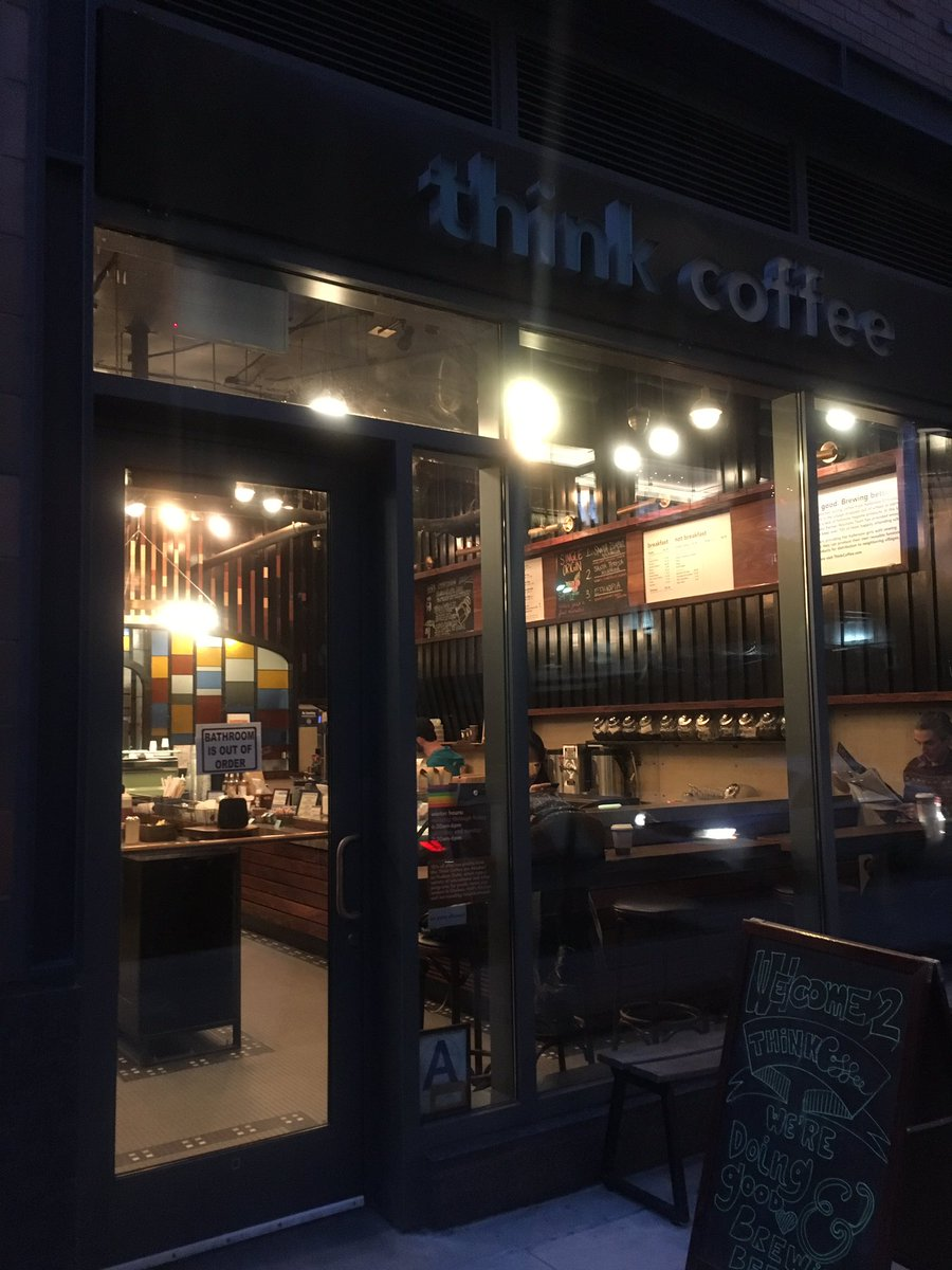 think coffee shuflix nyc